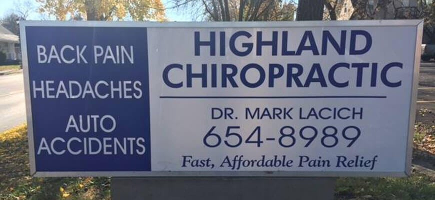 chiropractic services highland il